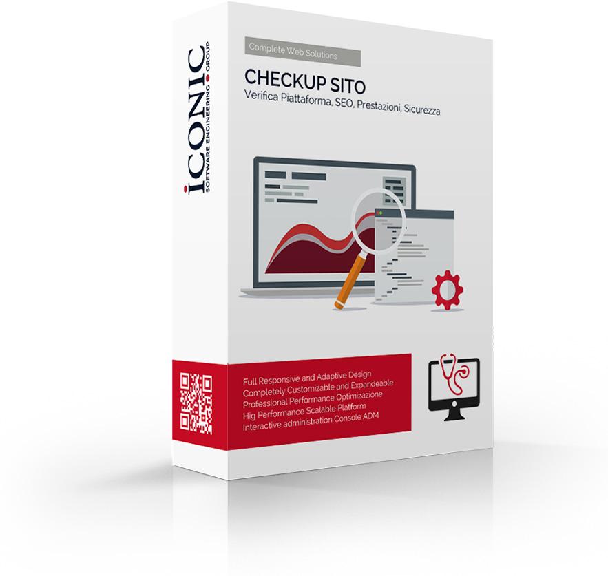 Iconic Srl - Soluzioni efficaci e strategiche - Checkup Sito