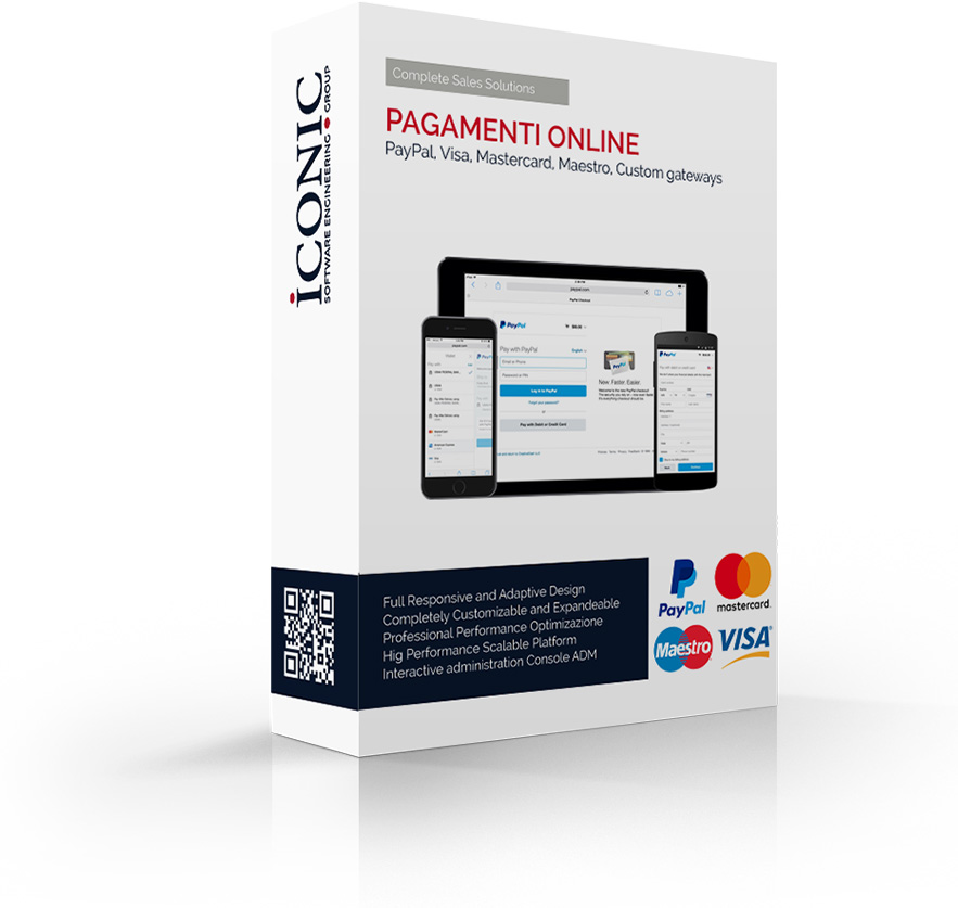 Iconic Srl - Soluzioni efficaci e strategiche - Pagamenti Online - PayPal - Carta di Credito