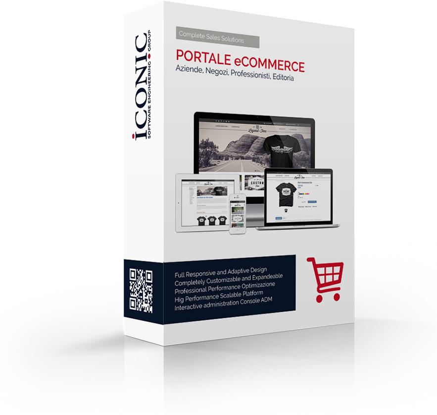 Iconic Srl - Soluzioni efficaci e strategiche - Realizzazione Portale e Commerce
