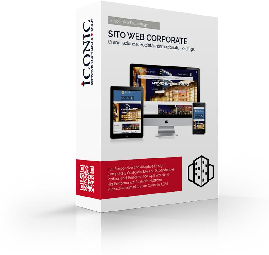 Iconic Srl - Soluzioni efficaci e strategiche - Realizzazione sito web Corporate