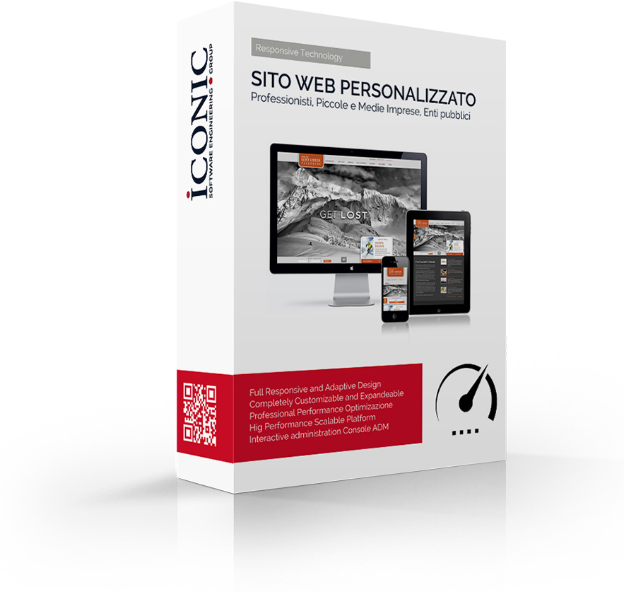 Iconic Srl - Soluzioni efficaci e strategiche - Realizzazione sito web Personalizzato