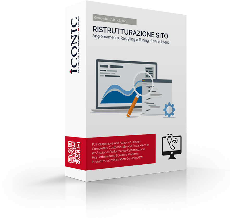 Iconic Srl - Soluzioni efficaci e strategiche - Restyling Sito