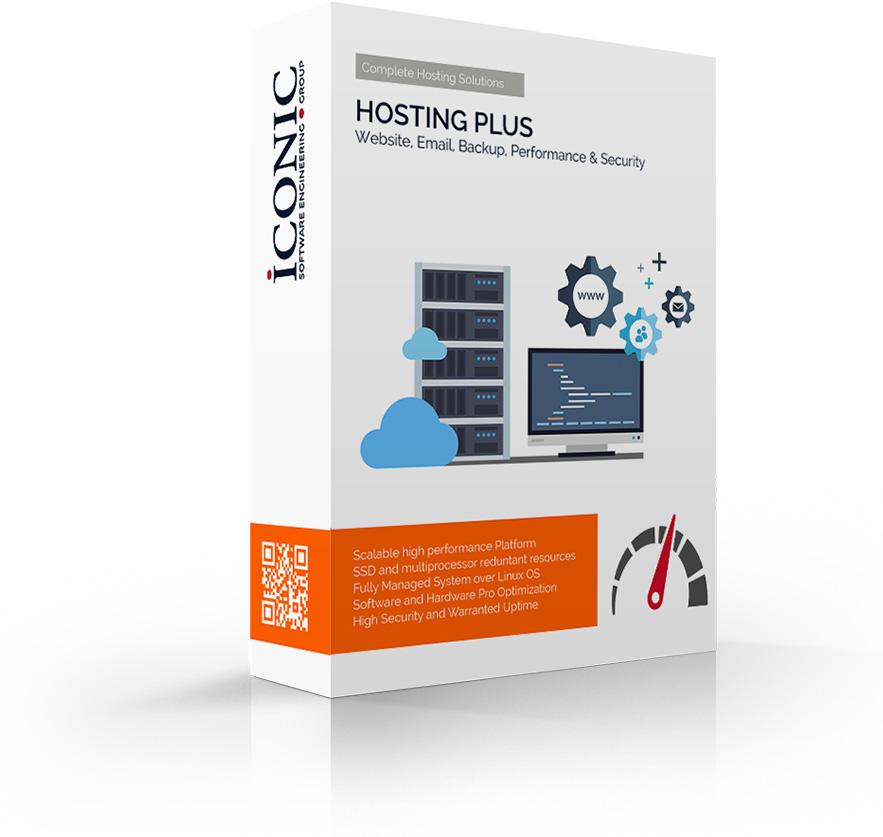 Iconic Srl - Soluzioni efficaci e strategiche - Servizio di Hosting Plus