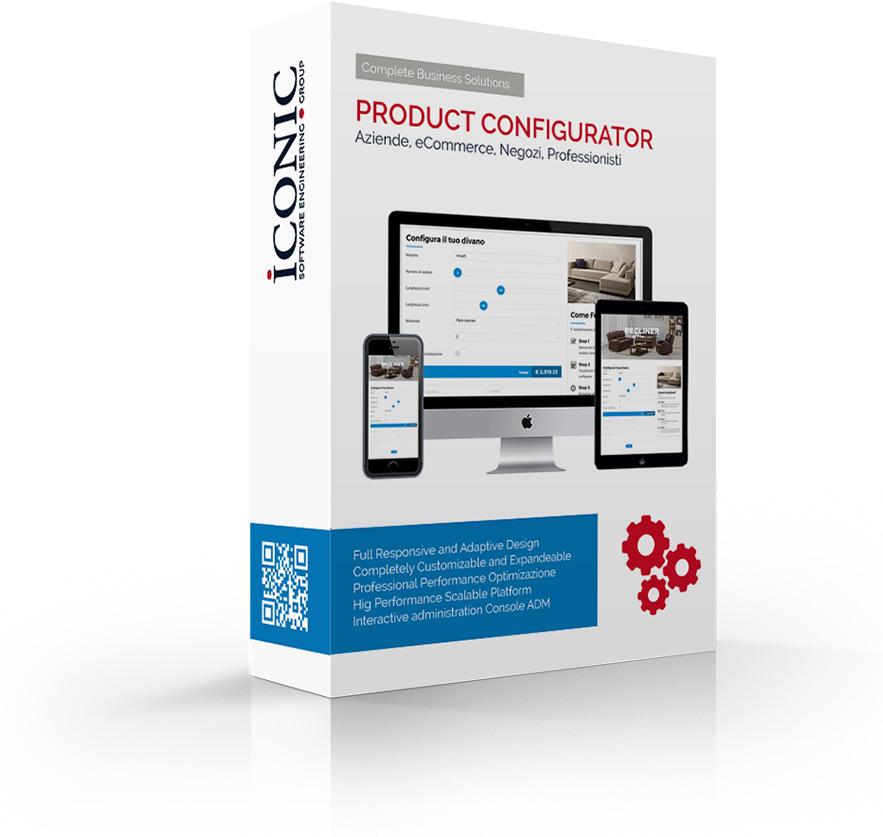 Iconic Srl - Soluzioni efficaci e strategiche - Configuratore Prodotto