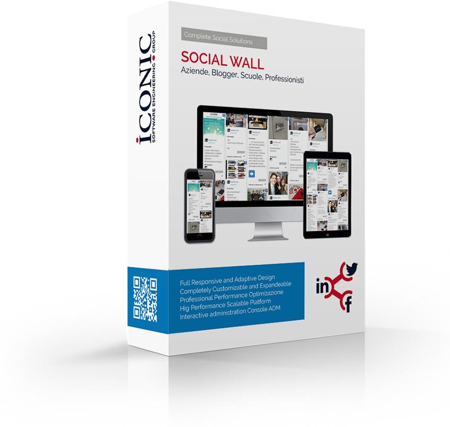 Iconic Srl - Soluzioni efficaci e strategiche - Social Wall