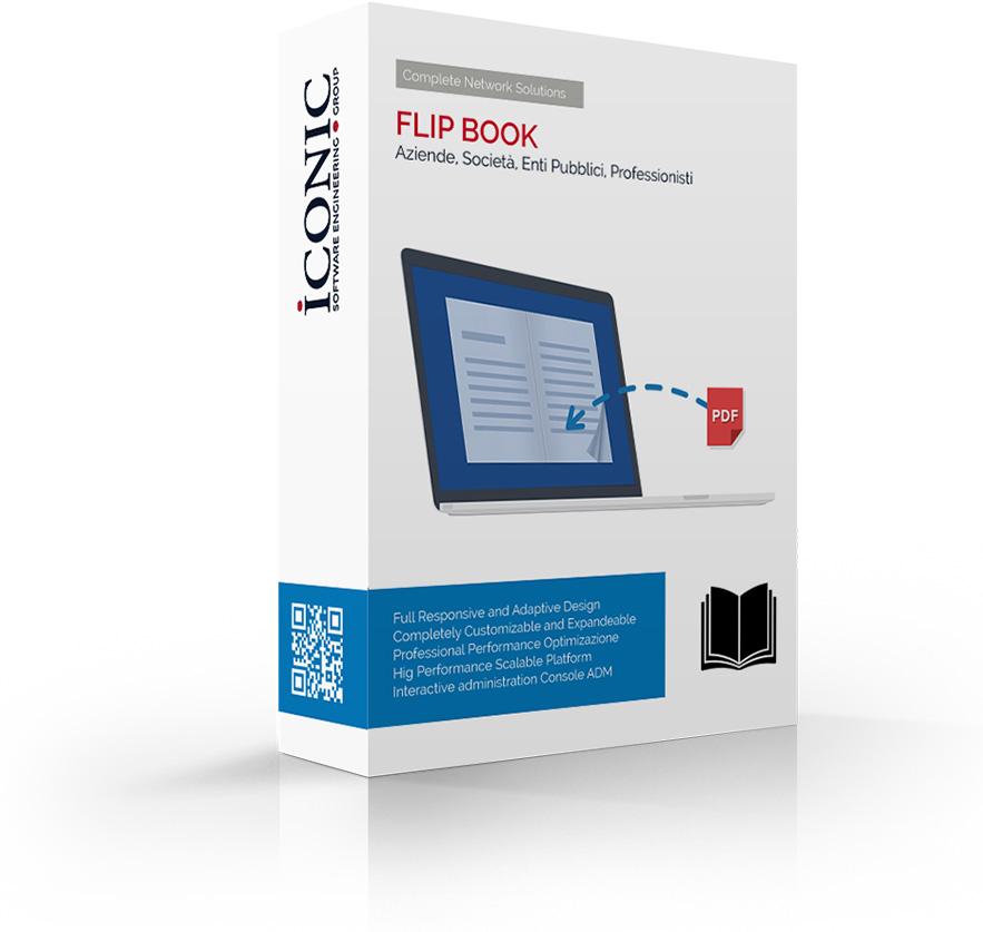 Iconic Srl - Soluzioni efficaci e strategiche - Filp Book catalogo online