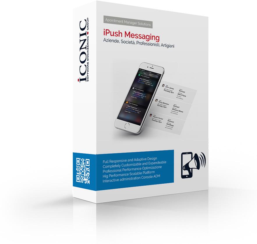 Iconic Srl - Soluzioni efficaci e strategiche - Messaggi Push