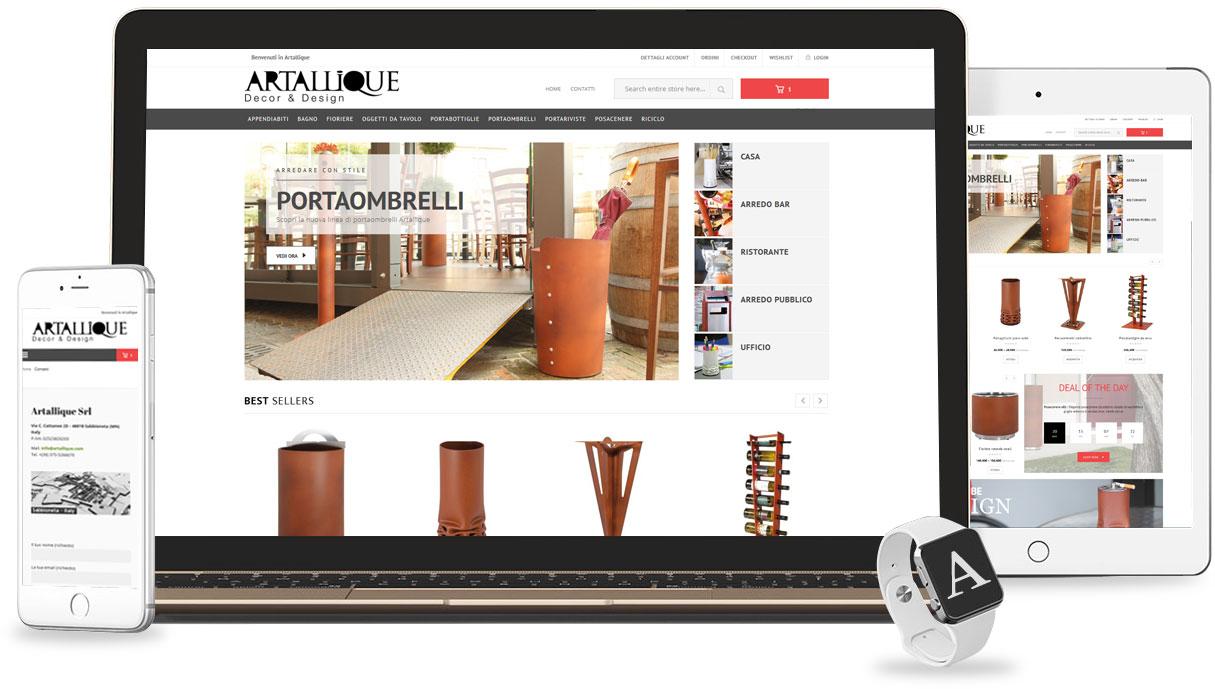Iconic Srl - Realizzazione Sito Web - eCommerce - Artallique a Sabbioneta (MN)