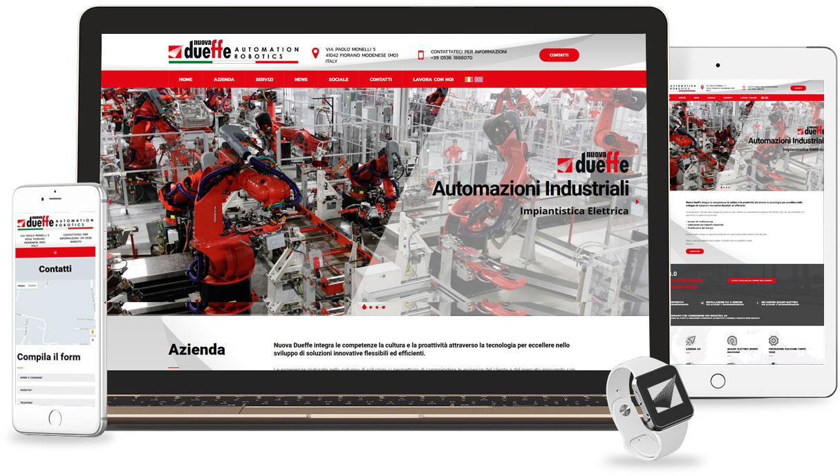 Iconic Srl - Realizzazione Sito Web - Nuova Dueffe a Fiorano Modenese (MO)