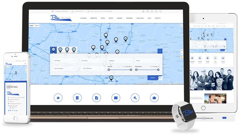 Iconic Srl - Realizzazione Sito Web - Blu Group a Carpi (MO)