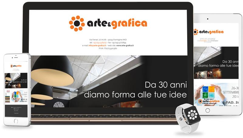 Iconic Srl - Realizzazione Sito Web - Arte Grafica a Formigine (MO)