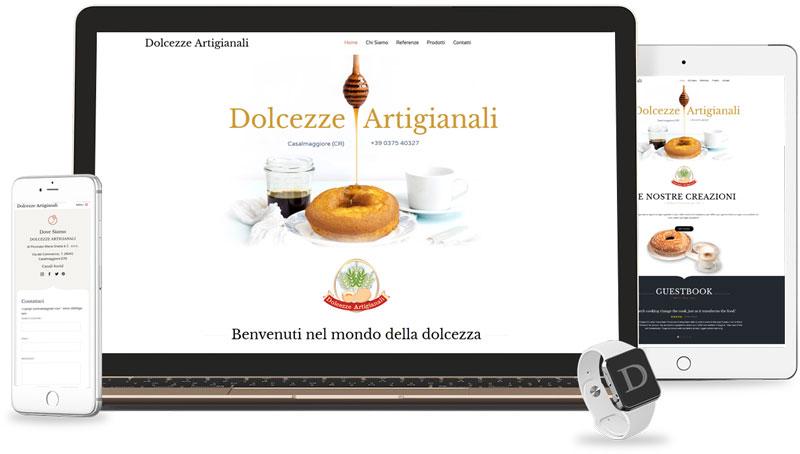Iconic Srl - Realizzazione Sito Web - Dolcezze Artigianali a Casalmaggiore (CR)