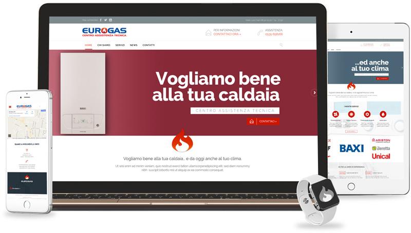 Iconic Srl - Realizzazione Sito Web - Eurogas a Mirandola (MO)