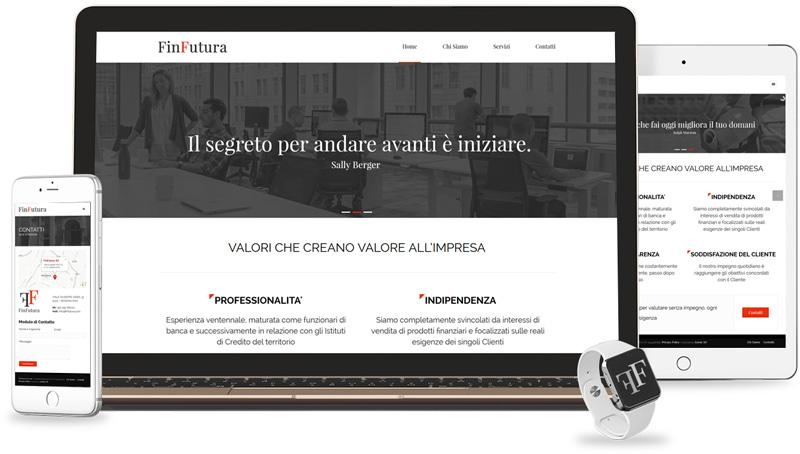 Iconic Srl - Realizzazione Sito Web - FinFutura a Modena