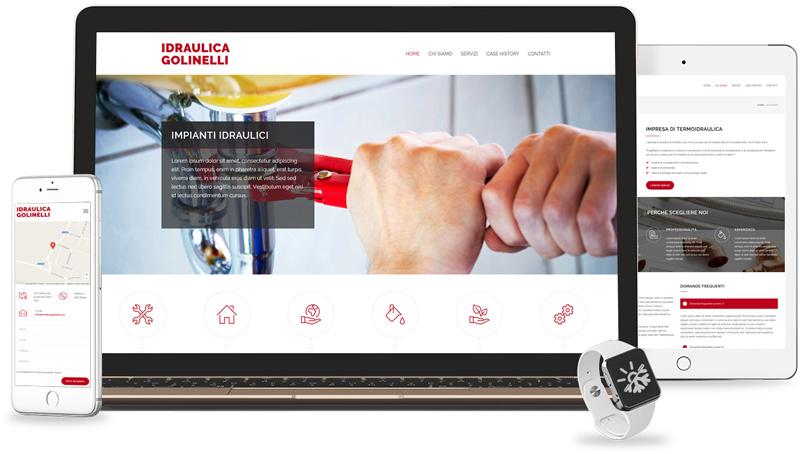 Iconic Srl - Realizzazione Sito Web - Idraulica Golinelli a San Felice Sul Panaro (MO)