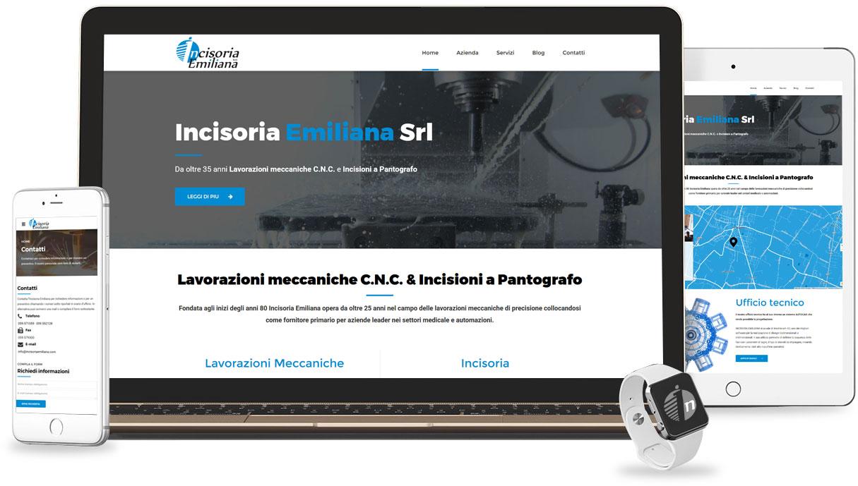 Iconic Srl - Realizzazione Sito Web - Incisoria Emiliana a Formigine (MO)