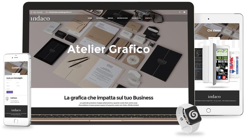 Iconic Srl - Realizzazione Sito Web - Indaco Atelier Grafico a Formigine (MO)