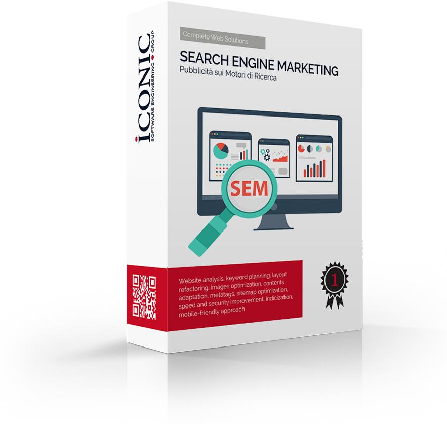 Iconic Srl - Soluzione SEM: pubblicità per la tua azienda sui motori di ricerca