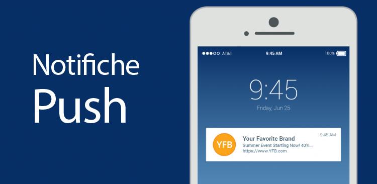 Iconic Srl - Comunica con i tuoi clienti mediante le notifiche Push